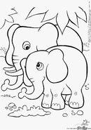 Crayola Coloring Page Elephants
