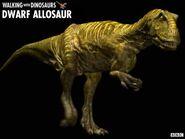 Dwarf allosaur