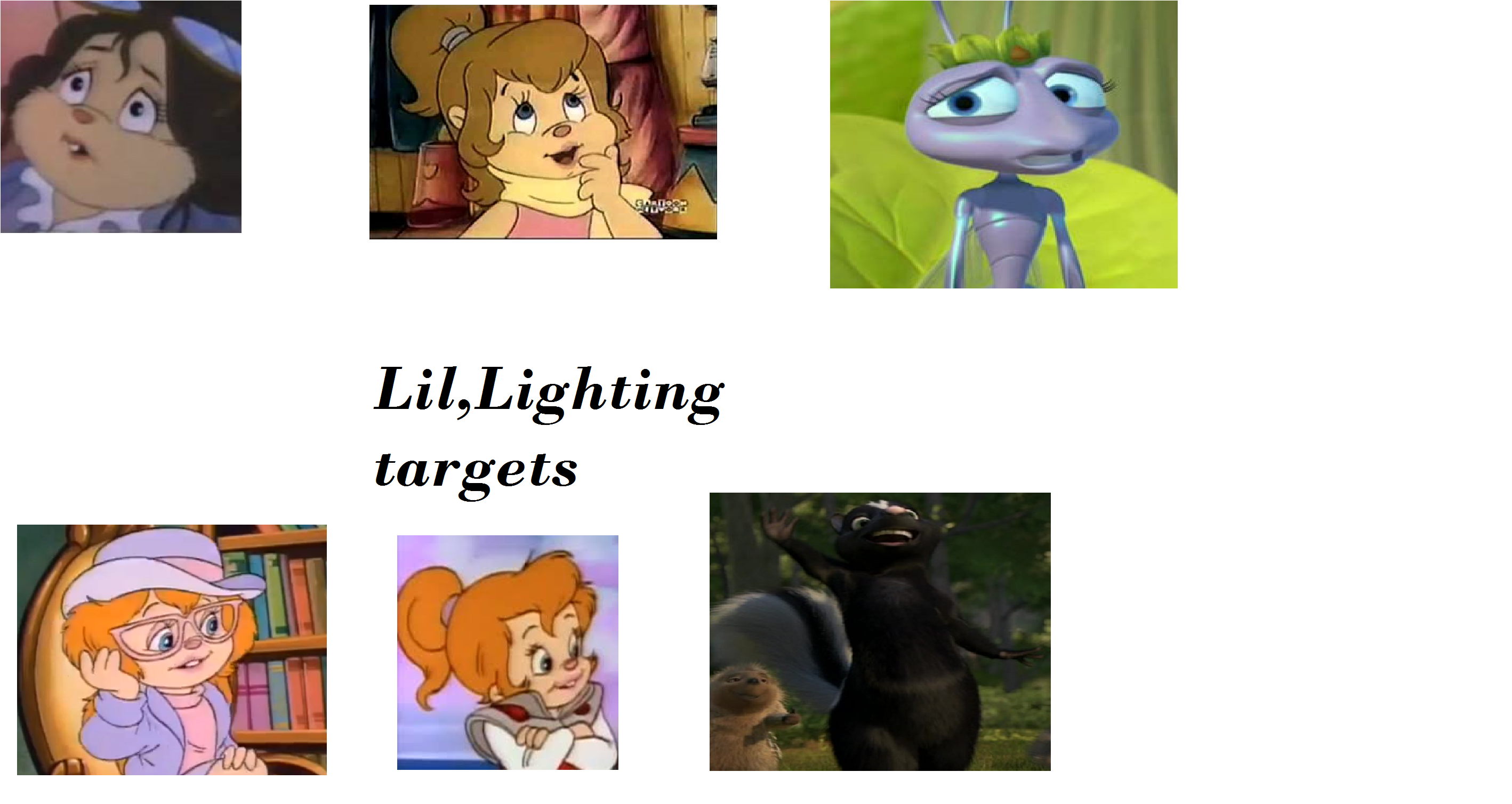 Lil' Lightning's Targets (Chris1703 Style)
