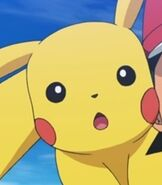 Pikachu in Pokemon the Movie Hoopa and the Clash of Ages