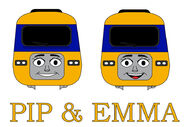 Pip and emma the high speed diesels promo by miked57s dcwsdgk-fullview