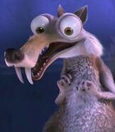 Scrat in the Wonderful Pistachios Commercial