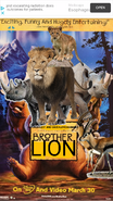 Brother Lion (NR1GLA Style) Poster