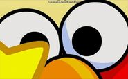 Eyes close-up- Elmo's Goofy Gallery