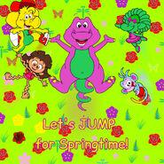 Let's JUMP for Springtime!