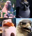 Nigel, Von Talon, Hunter and Falcon
