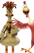 Peck the Rooster and Mac
