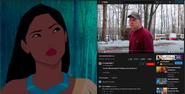 Pocahontas vs Psycho Dad