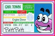 Putt-Putt's Driver's License