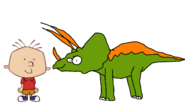 Stanley Griff meets Triceratops