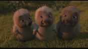 Bucky, Quillo and Spike