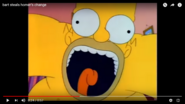Homer Falling Down the Flight Of Stairs