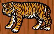 Hugo lek och lar 2 den magiska resan tiger