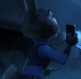Judy sees nick about shocked