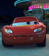 Lightning McQueen in the Shorts