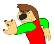 Me as The Rock Dog Character (When I'm Angry)