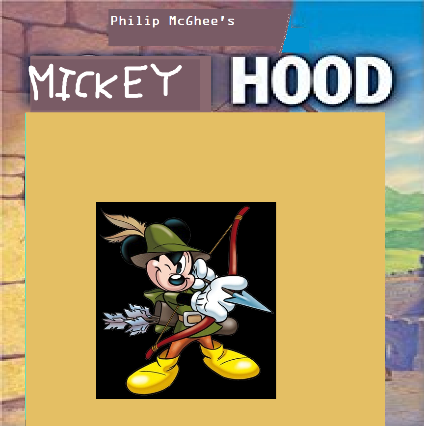 Mickey Mouse Hood