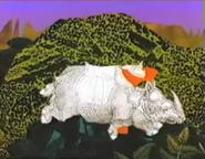 Sesame Street Indian Rhino