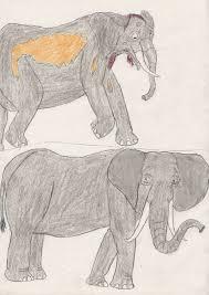 Characters as Elephants
