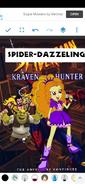 Spider Adagio the TV Series Poster