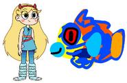 Star meets Mandarinfish