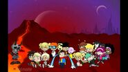 The Cartoon Network Gang on Mars