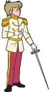 Arthur Pendragon as Prince Charming