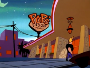 Johnny Walking Into Pops' Moon Palace