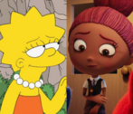 Lisa Simpson and Mandy