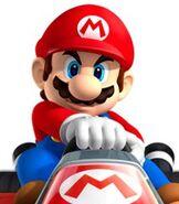 Mario in Mario Kart 7