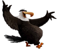Mighty Eagle Cool Pose Render