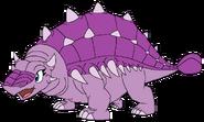 Mina as an Ankylosaurus