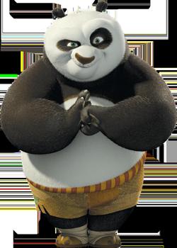 Po the Panda (aka Frosty the Snowman)