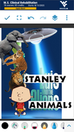 Stanley and the Animals Poster
