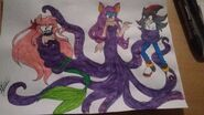 The little mermaid shadamy by shadowgirlvana-dbli0je