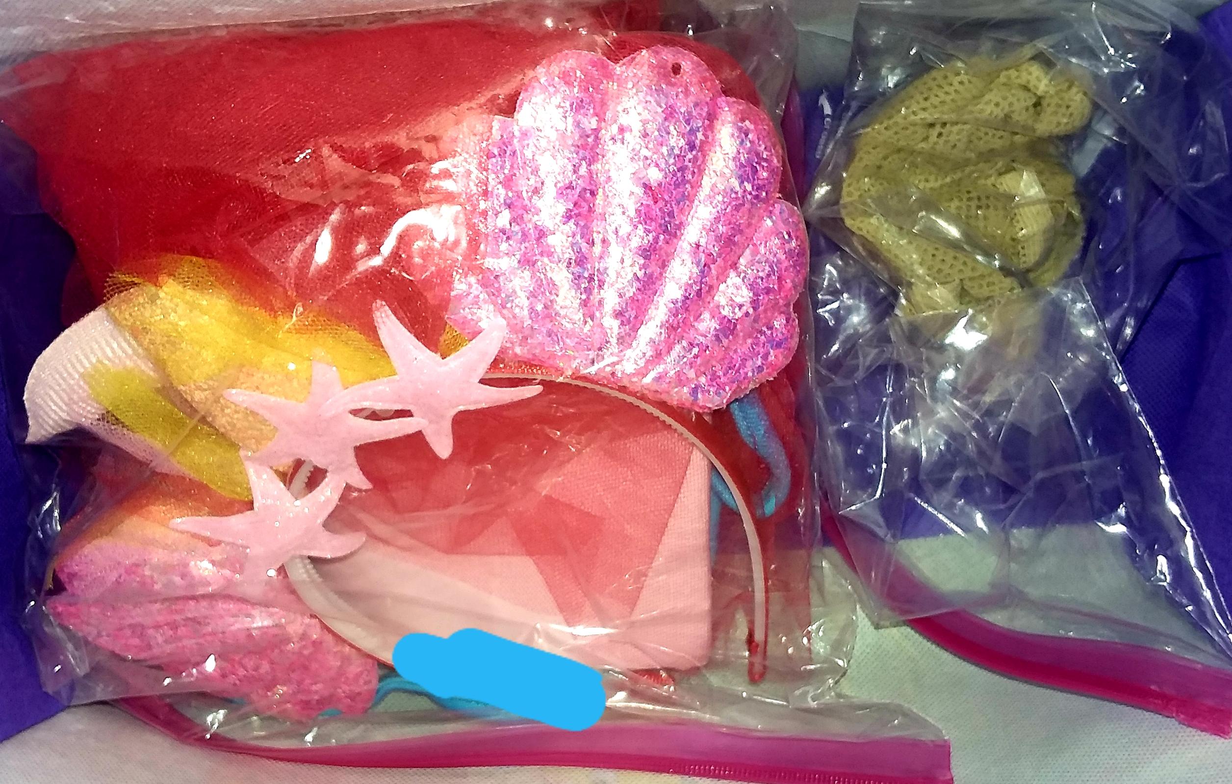 "RFART419's Ariel-inspired ""Mermaid Lolita"" Dress set"