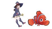Atsuko Meets Clown Fish