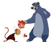 Baloo and Danny