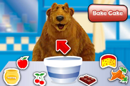 Bear in the Big Blue House Cake Baking