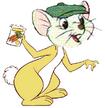 Bernard as a Rabbit from Winnie the Pooh