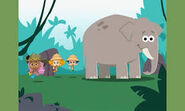 Bubble Guppies Asian Elephants