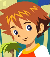 Christopher Thorndyke in Sonic X- Leapster