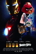Iron-Angry Bird (Iron Man) (Poster)