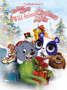 It's a Very Merry Wild Animals Christmas Movie Poster