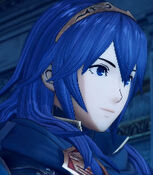 Lucina in Fire Emblem Warriors