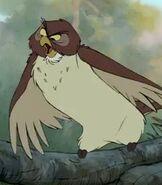 Owl in Winnie the Pooh