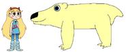 Star meets Polar Bear