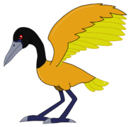 Stymphalian bird by cryoflaredraco dbz2p4p (1)
