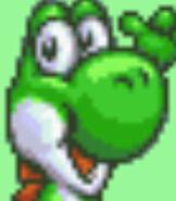 Yoshi in Excitebike - Bun Bun Mario Battle Stadium