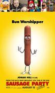 YouTube Characters (Jeffy, Ricky Berwick, Mario, Mama Luigi, Chef PP and Crisp Rat) Hate Sausage Party (2016)